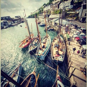Pettifox at this years Looe Luggers